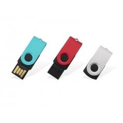 USB metal/plastique mini rotative