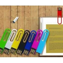 USB plastique trombone