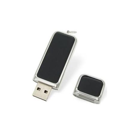USB cuir/métal