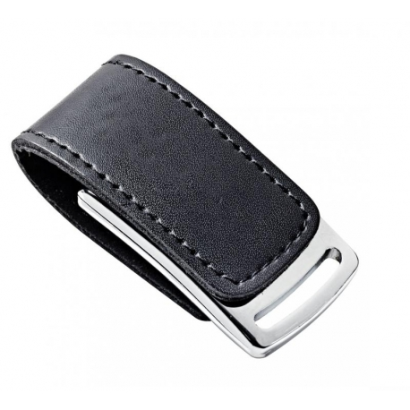 USB cuir rabat aimanté