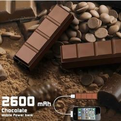 """Batterie ''choco"""" en ABS pour smartphone"""