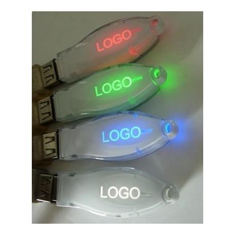 USB ABS - Logo lumineux