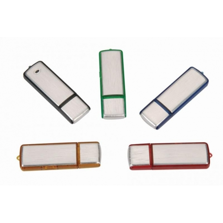 USB aluminium/multi coloris