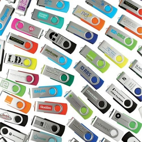 USB twister multi coloris