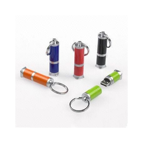 USB métal cylindrique