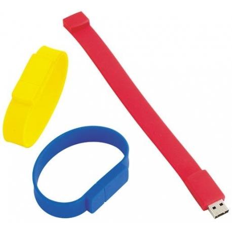 USB BRACELET SILICONE