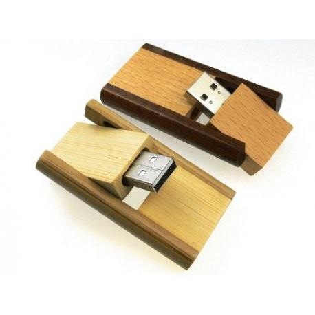 USB PIVOTANTE EN BOIS