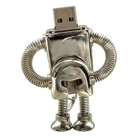 USB ROBOT métal